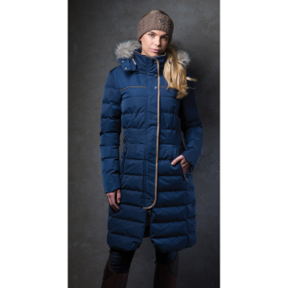 Equetech Womens Rowant Long Quilted Coat