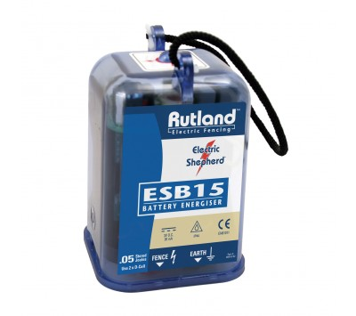 Rutland ESB15 Battery Fence Energiser