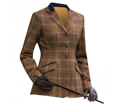 Equetech Womens Marlow Deluxe Tweed Jacket