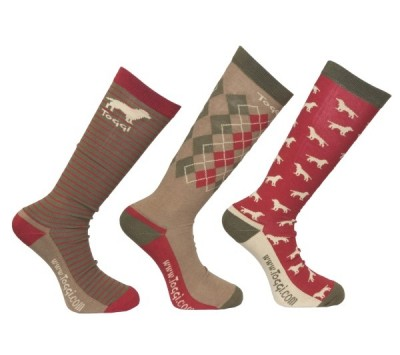 Toggi Hambleton Mens Three Pack Socks