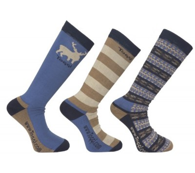 Toggi Harden Mens Three Pack Socks