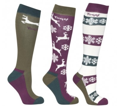Toggi Hoyland Ladies Three Pack Socks