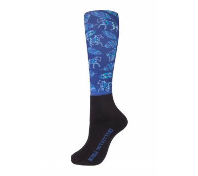 Noble Outfitters Womens Over the Calf Peddies - Fillies & Feathers