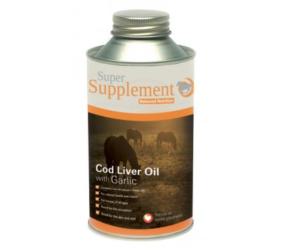 Super Codlivine Cod Liver Oil with Garlic