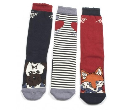 Toggi Vixey Chilldren's Three Pack Socks