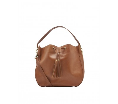 Joules Beau Leather Shoulder Bag