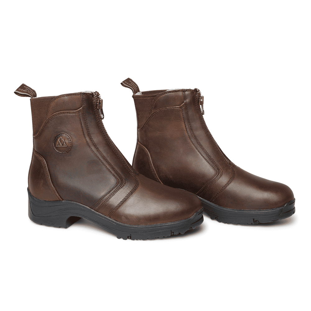 Mountain Horse Ladies Snowy River Zip Paddock Boot  - Thomas Irving's equestrian and accessories store  Mountain Horse Ladies Snowy River Zip Paddock Boot