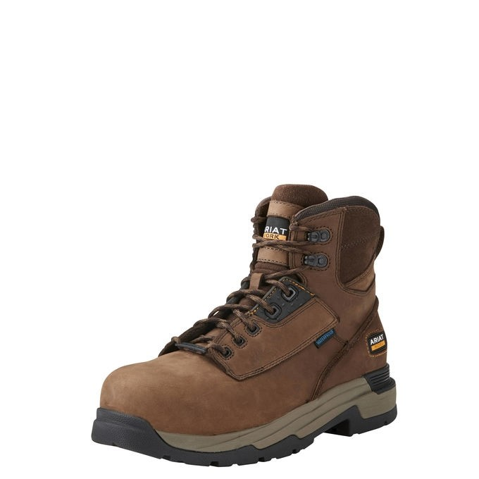 """Ariat Mens Mastergrip 6"""" Work Boot  - Thomas Irving's equestrian and accessories store  Ariat Mens Mastergrip 6"""" Work Boot"""
