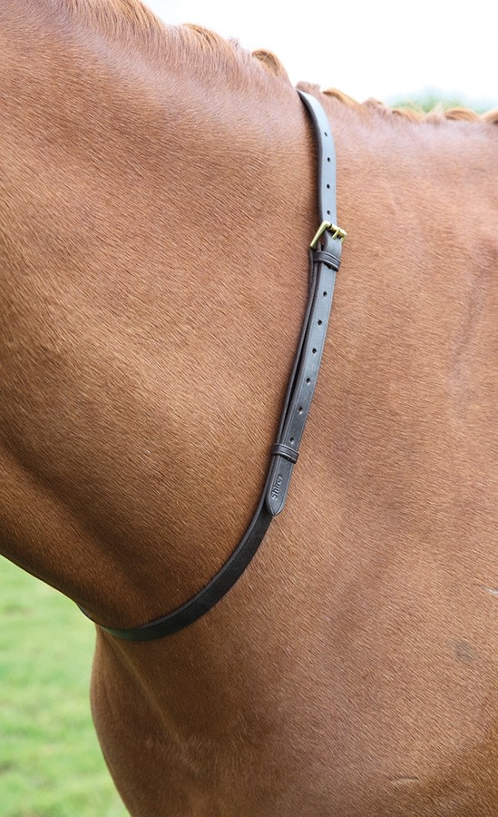 Shires Blenheim Leather Neck Strap  - Thomas Irving's equestrian and accessories store  Shires Blenheim Leather Neck Strap