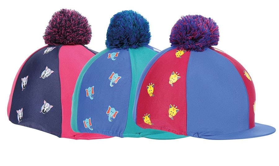 Shires Childs Tikaboo Hat Cover  - Thomas Irving's equestrian and accessories store  Shires Childs Tikaboo Hat Cover