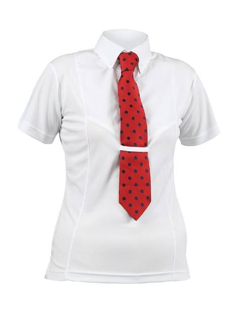 Shires Childrens Short Sleeve Tie Shirt  - Thomas Irving's equestrian and accessories store  Shires Childrens Short Sleeve Tie Shirt