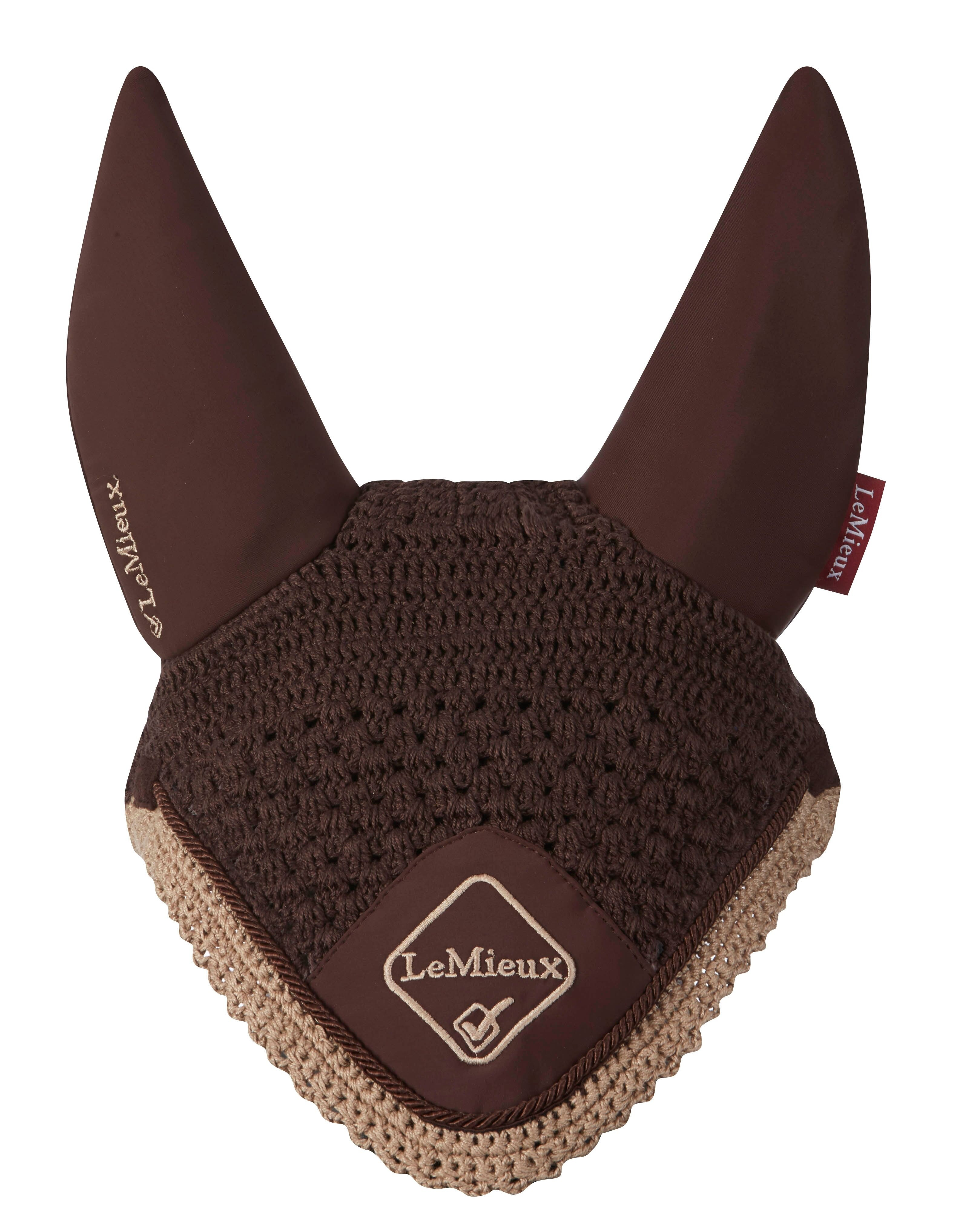 LeMieux Classic Acoustic Fly Hood  - Thomas Irving's equestrian and accessories store  LeMieux Classic Acoustic Fly Hood