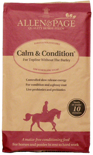 Allen & Page Calm & Condition  - Thomas Irving's equestrian and accessories store  Allen & Page Calm & Condition