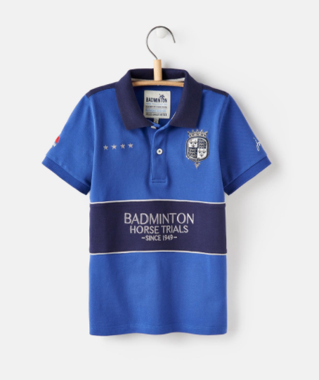 Joules Official Badminton Boys Polo  - Thomas Irving's equestrian and accessories store  Joules Official Badminton Boys Polo