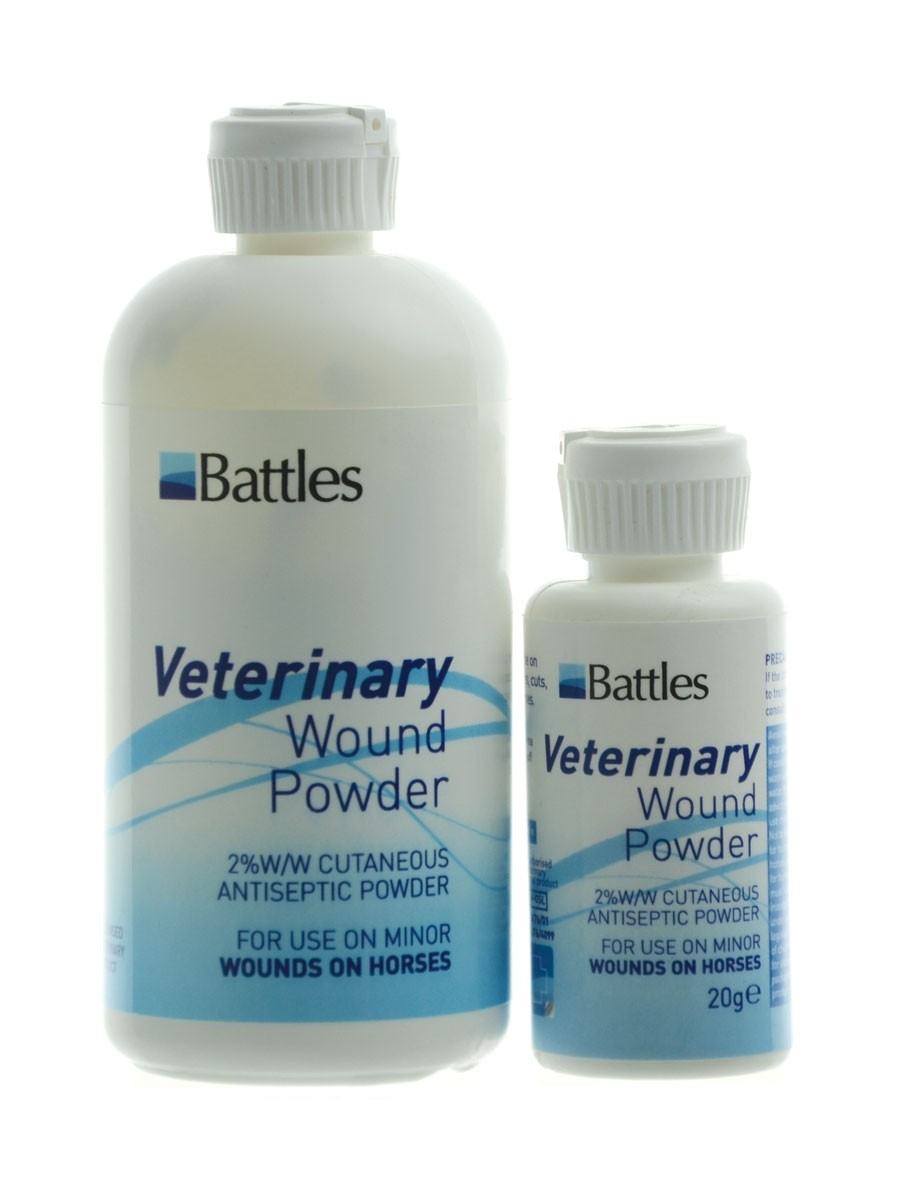 Battles Veterinary Wound Powder  - Thomas Irving's equestrian and accessories store  Battles Veterinary Wound Powder