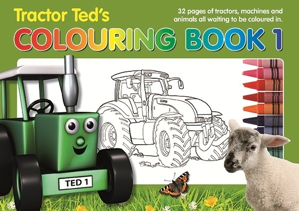 Tractor Ted Colouring Book  - Thomas Irving's equestrian and accessories store  Tractor Ted Colouring Book