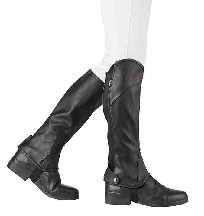 Dublin Childs Stretch Fit Half Chaps  - Thomas Irving's equestrian and accessories store  Dublin Childs Stretch Fit Half Chaps