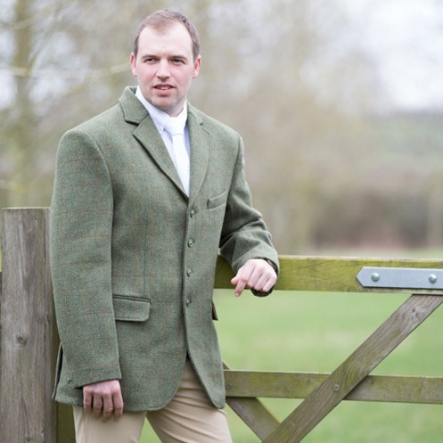 Equetech Mens Claydon Tweed Jacket  - Thomas Irving's equestrian and accessories store  Equetech Mens Claydon Tweed Jacket