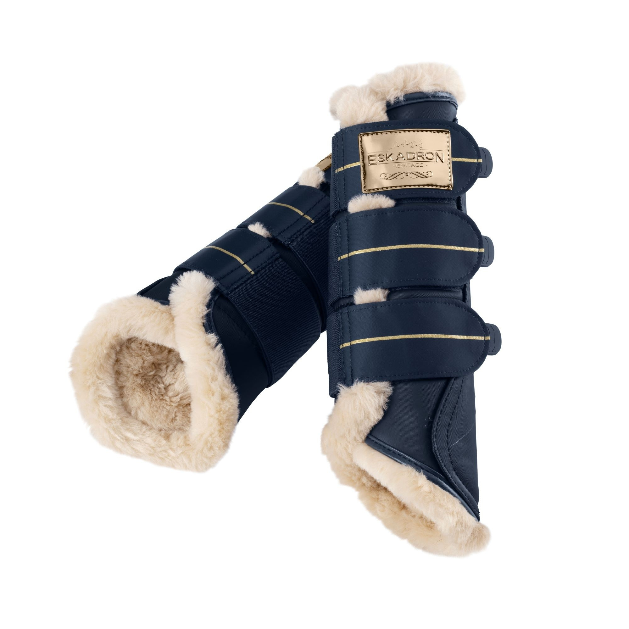 Eskadron Heritage Faux Fur Brushing Boots  - Thomas Irving's equestrian and accessories store  Eskadron Heritage Limited Edition Faux Fur Brushing Boots