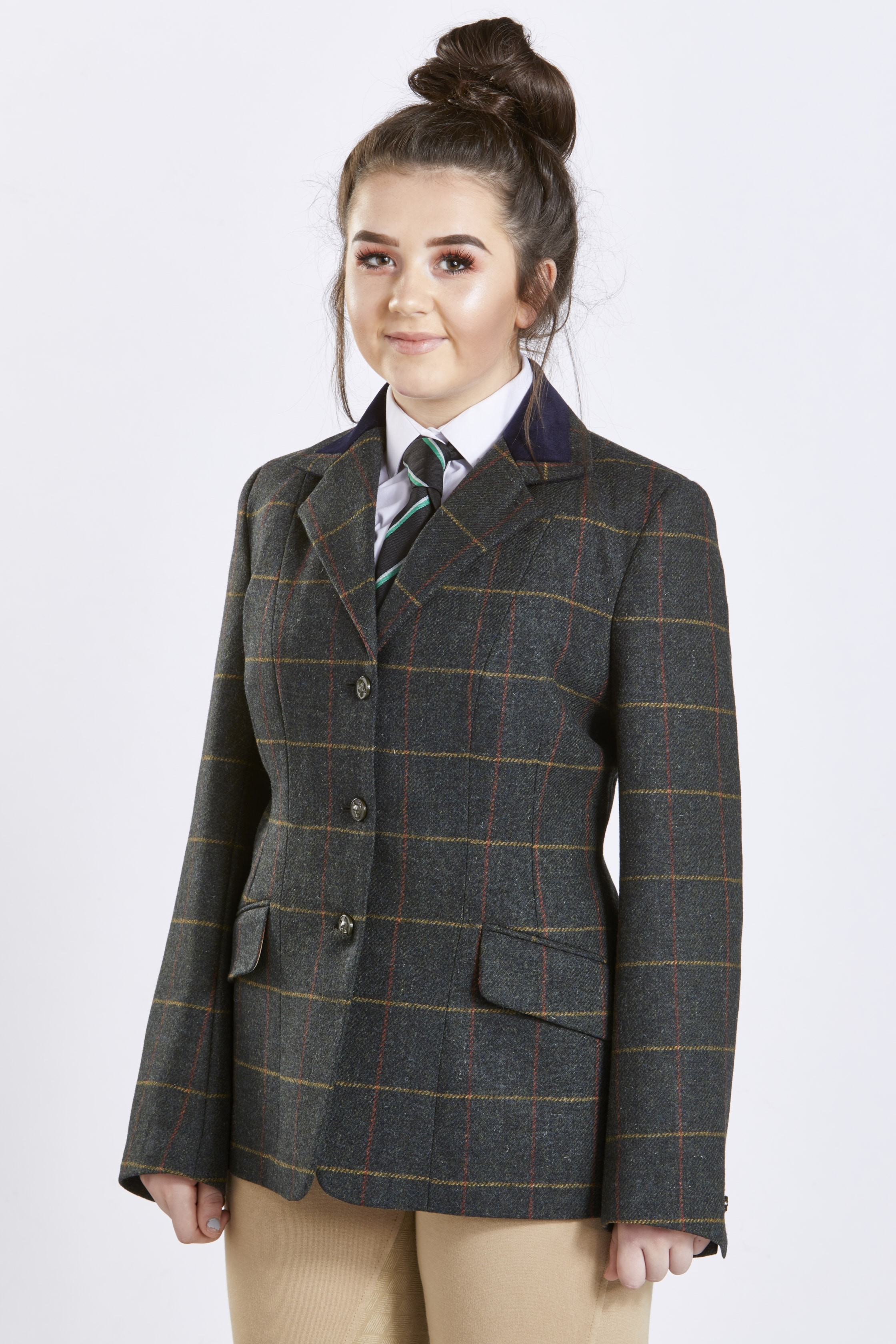 Firefoot Fewston Girls Tweed Jacket  - Thomas Irving's equestrian and accessories store  Firefoot Fewston Girls Tweed Jacket