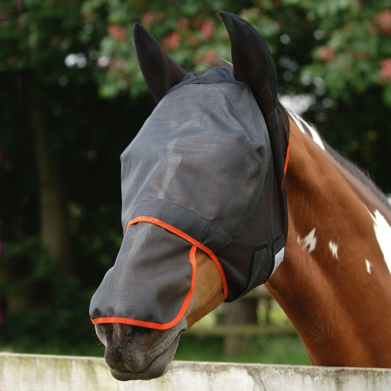 Equilibrium Field Relief Fly Mask Max  - Thomas Irving's equestrian and accessories store  Equilibrium Field Relief Fly Mask Max