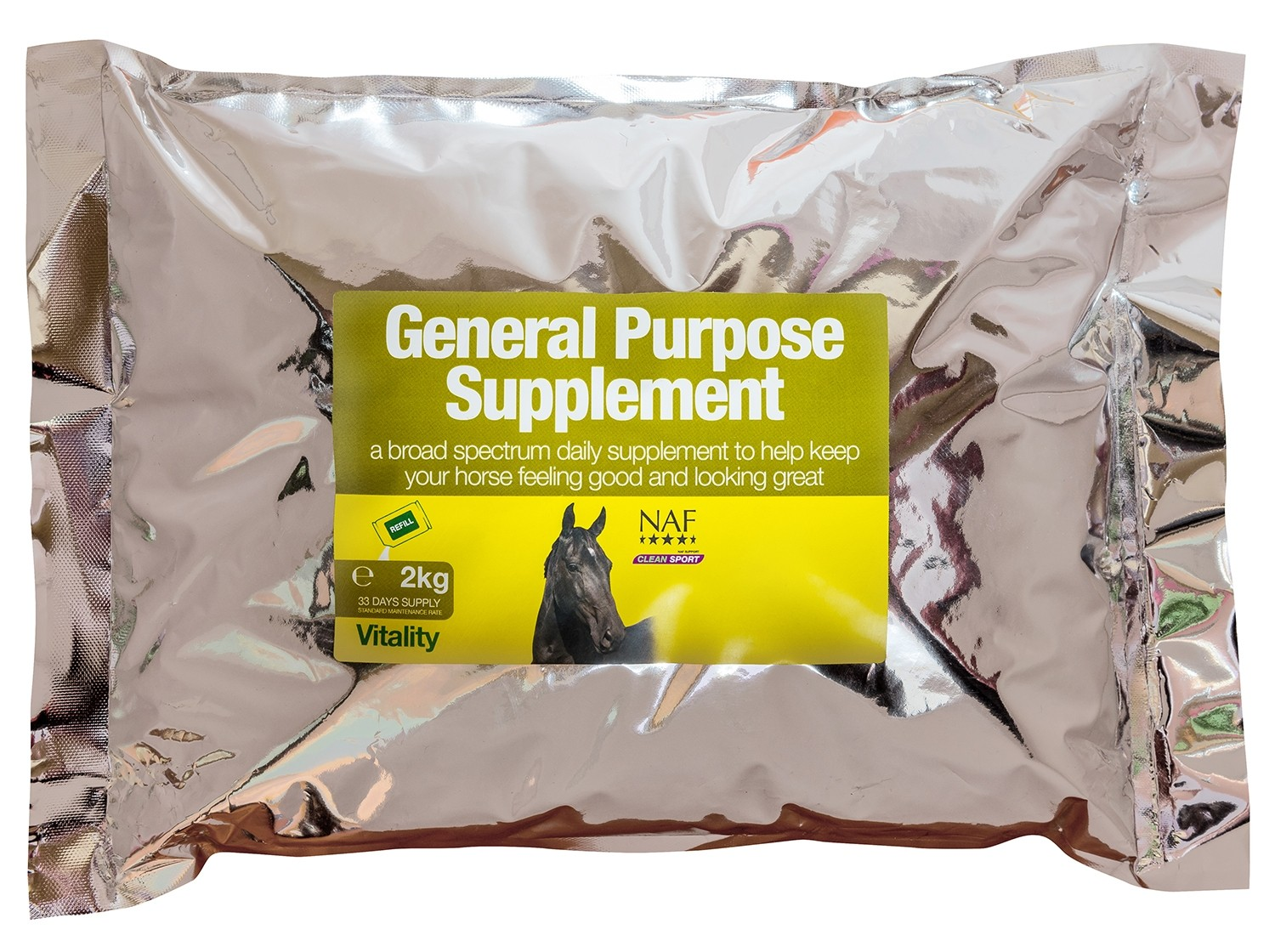 NAF General Purpose Supplement Refill  - Thomas Irving's equestrian and accessories store  NAF General Purpose Supplement Refill