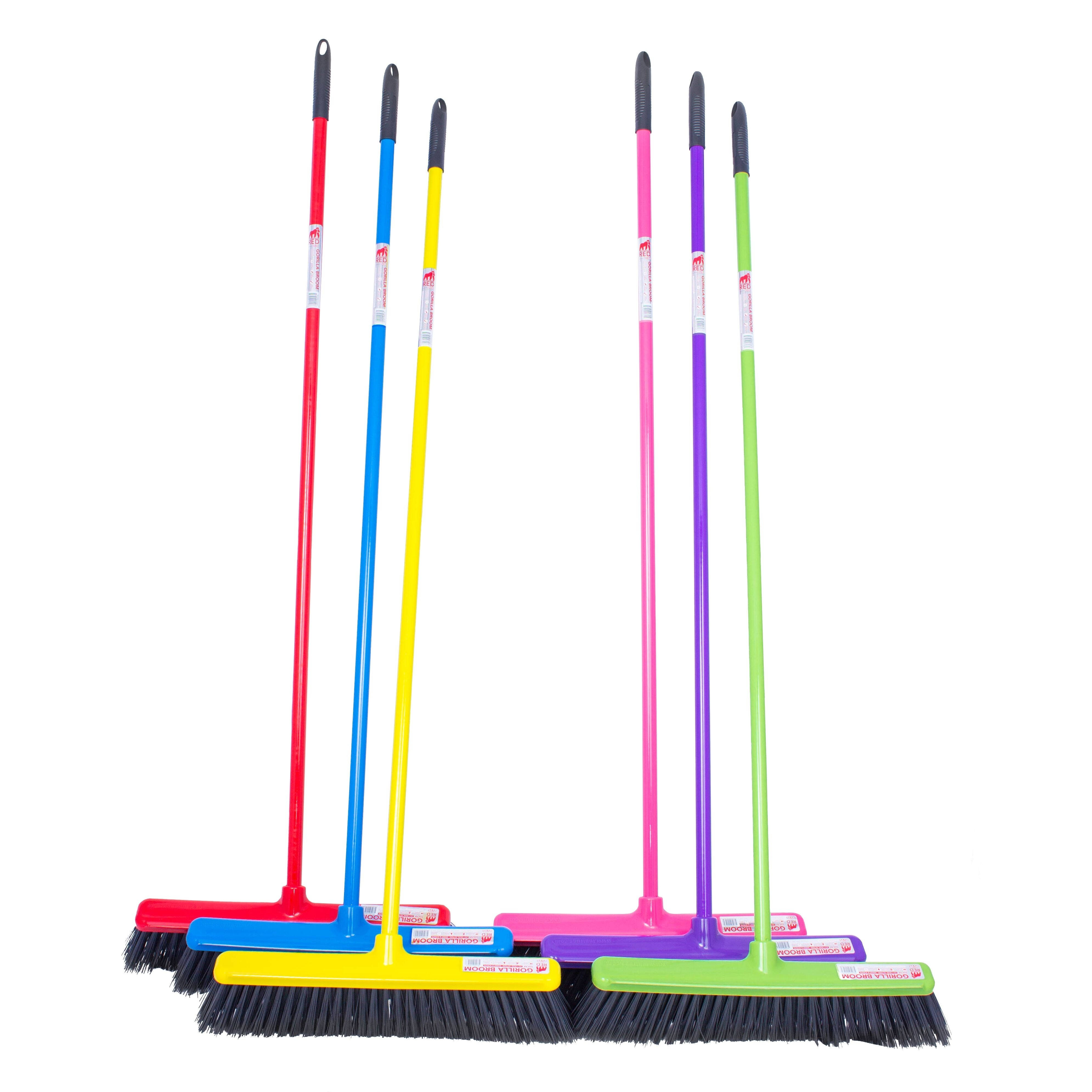 Red Gorilla 50cm Complete Broom  - Thomas Irving's equestrian and accessories store  Red Gorilla 50cm Complete Broom