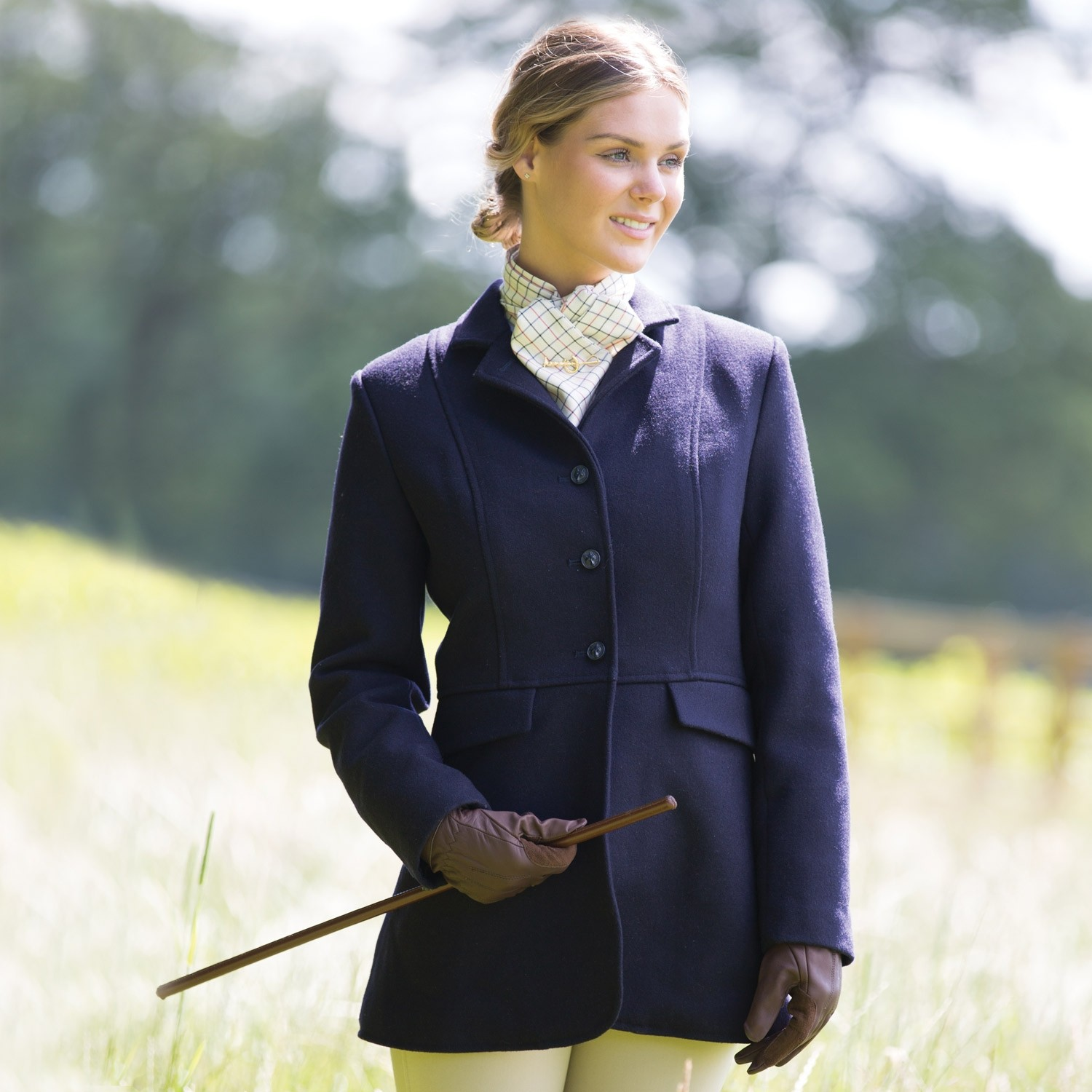 Equetech Ladies Hunt Frock Wool Coat  - Thomas Irving's equestrian and accessories store  Equetech Ladies Hunt Frock Wool Coat