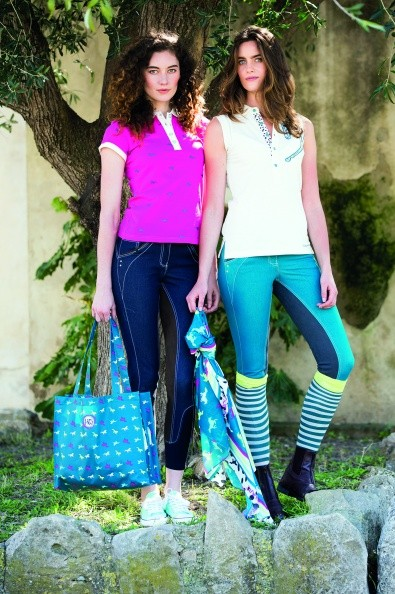 Horseware Ladies Denim Fashion Breeches  - Thomas Irving's equestrian and accessories store  Horseware Ladies Denim Fashion Breeches
