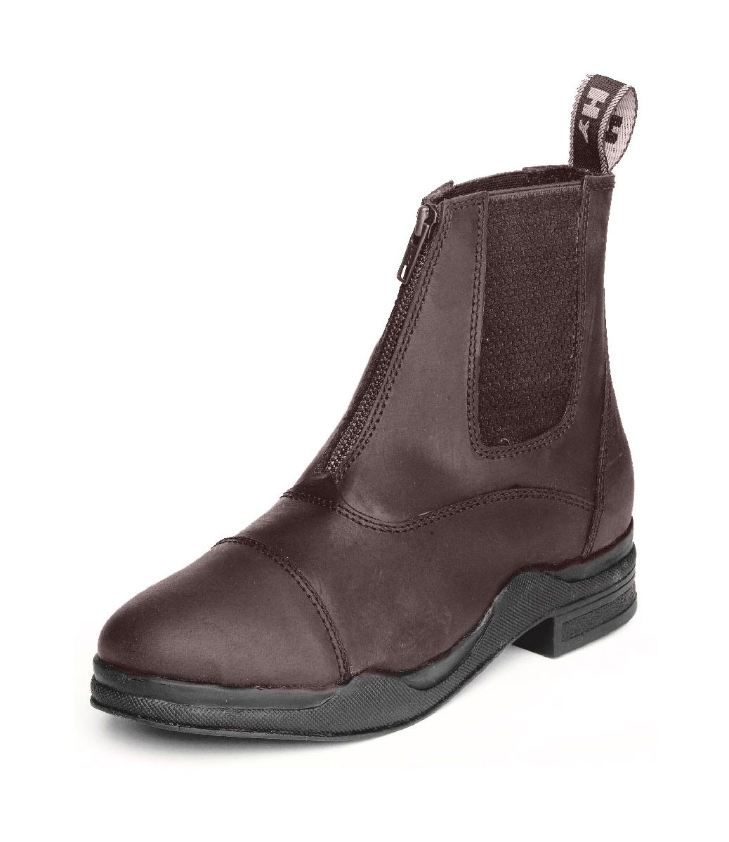 HyLand Wax Leather Zip Boot  - Thomas Irving's equestrian and accessories store  HyLand Wax Leather Zip Boot