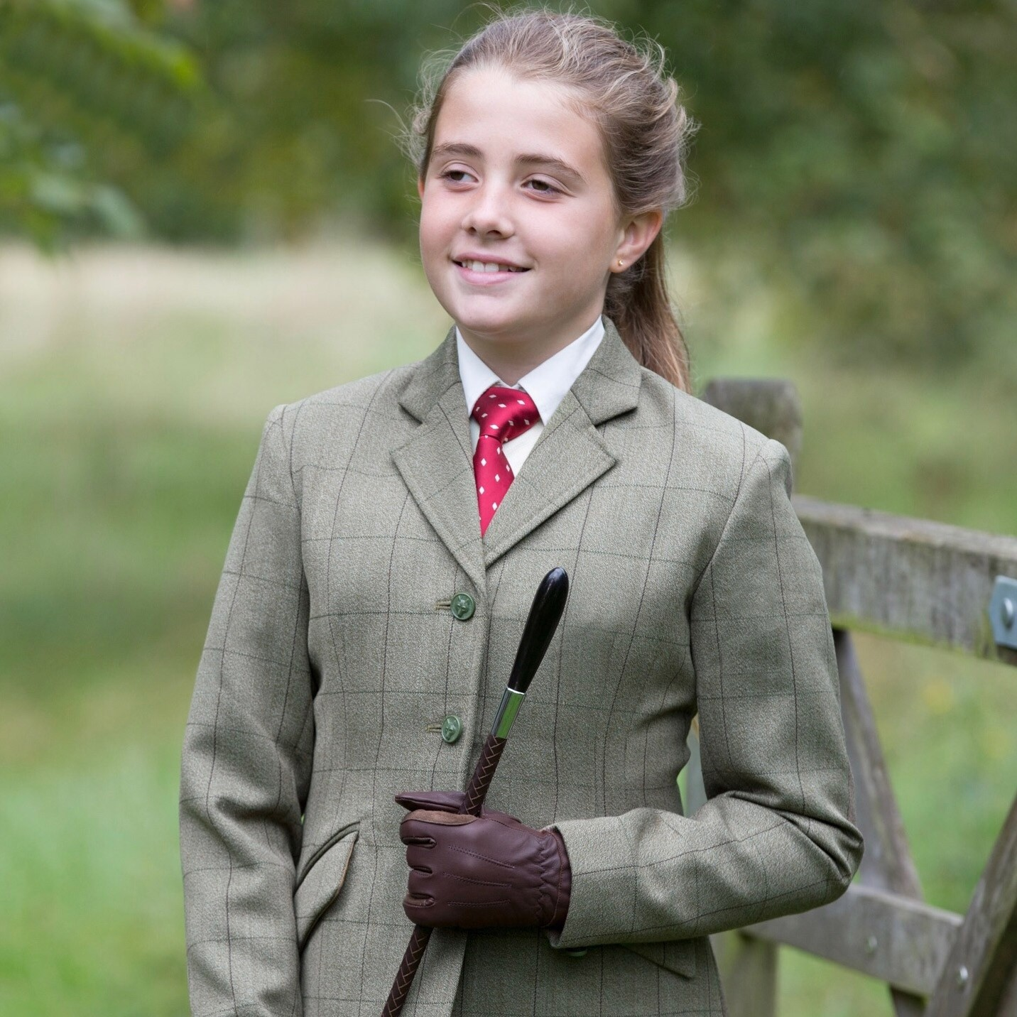 Equetech Junior Foxbury Tweed Riding Jacket  - Thomas Irving's equestrian and accessories store  Equetech Junior Foxbury Tweed Riding Jacket
