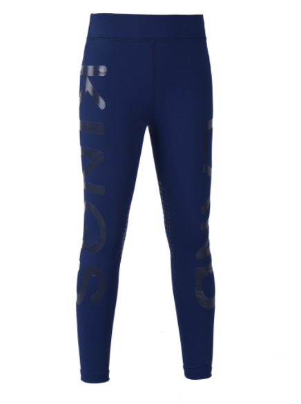 Kingsland Girls Kandy F-Tec Knee Grip Compression Tights  - Thomas Irving's equestrian and accessories store  Kingsland Girls Kandy F-Tec Knee Grip Compression Tights