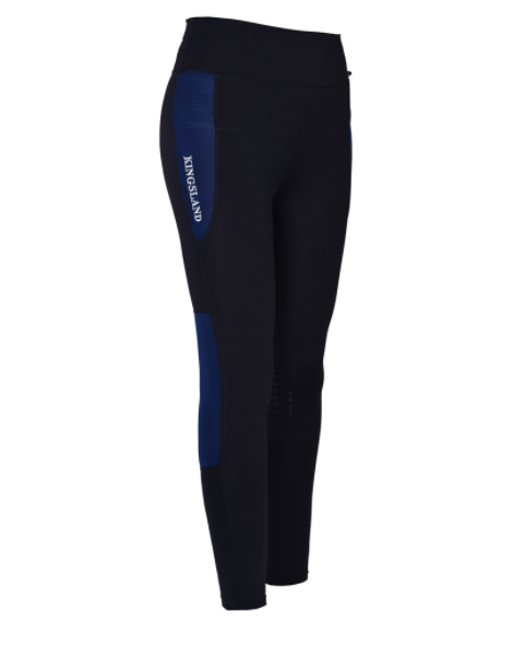 Kingsland Karina F-Tec Knee Grip Compression Tights  - Thomas Irving's equestrian and accessories store  Kingsland Karina F-Tec Knee Grip Compression Tights