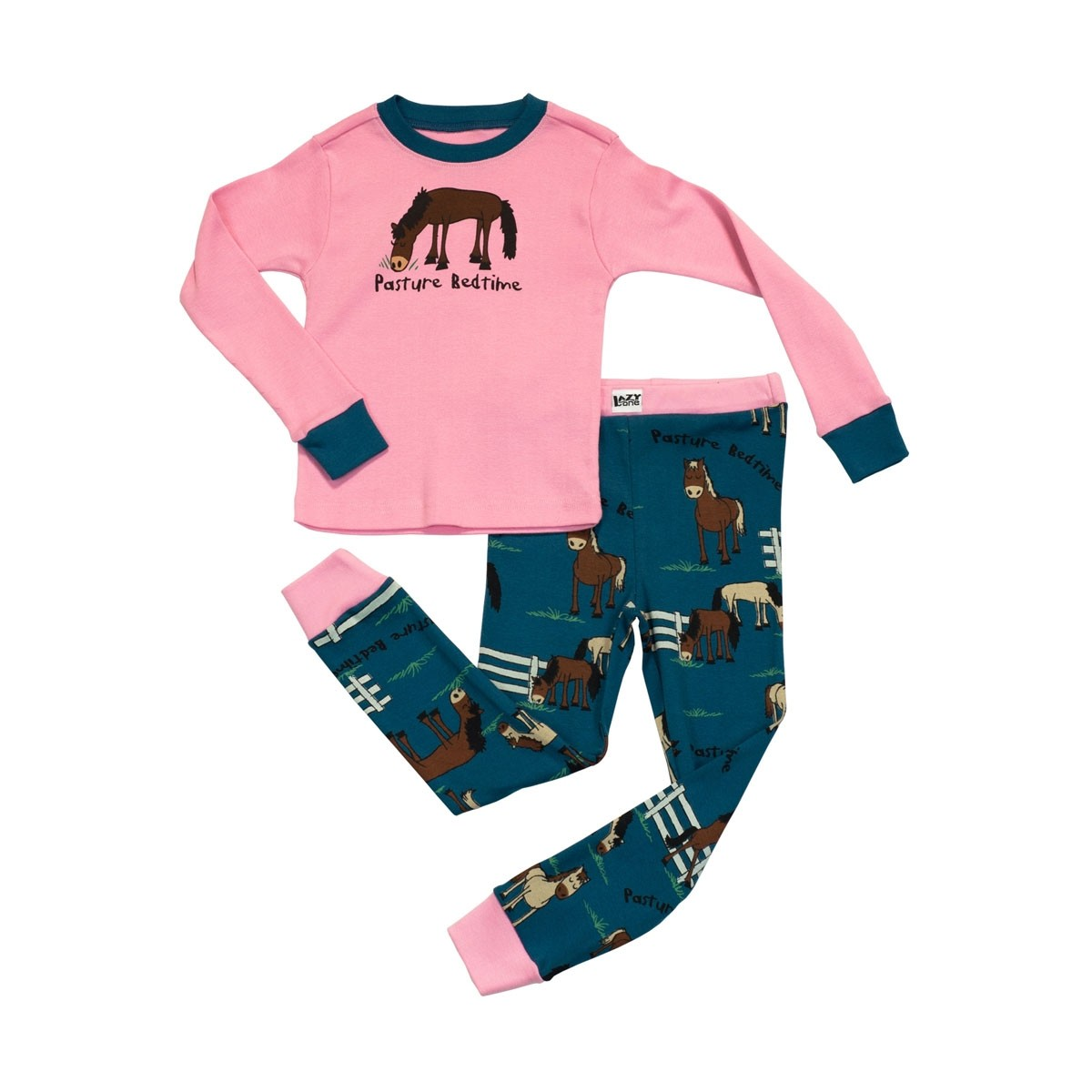 LazyOne Girls Pasture PJ Sets  - Thomas Irving's equestrian and accessories store  LazyOne Girls Pasture Bedtime PJ Sets