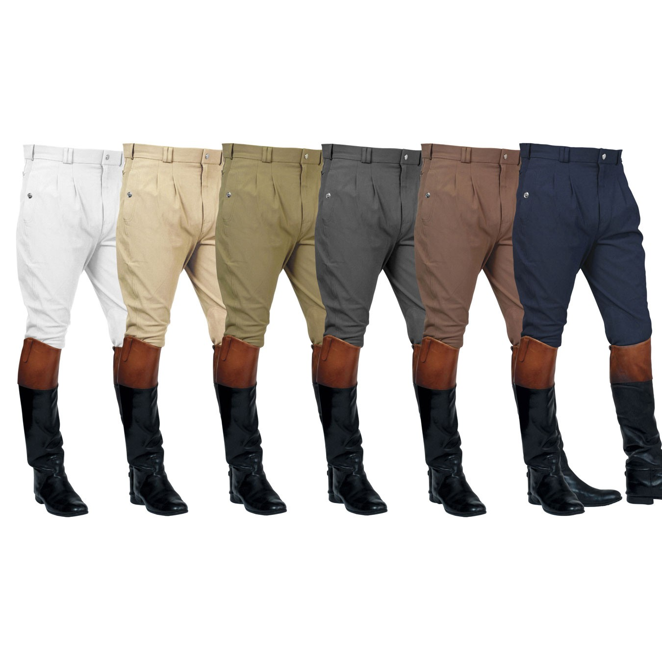 Mark Todd  Mens Auckland Pleated Front Breeches  - Thomas Irving's equestrian and accessories store  Mark Todd  Mens Auckland Pleated Front Breeches
