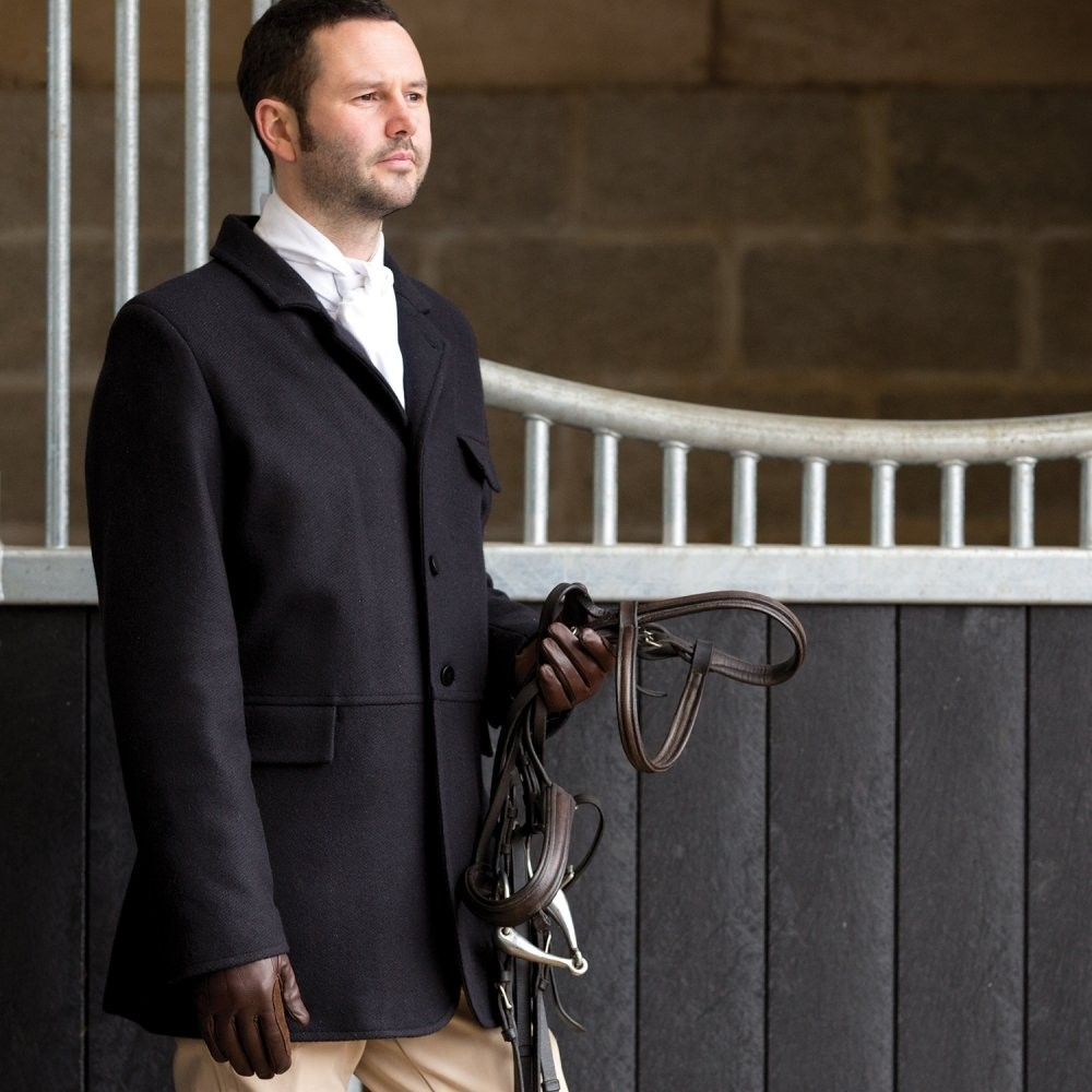 Equetech Mens Hunt Frock Wool Coat  - Thomas Irving's equestrian and accessories store  Equetech Mens Hunt Frock Wool Coat