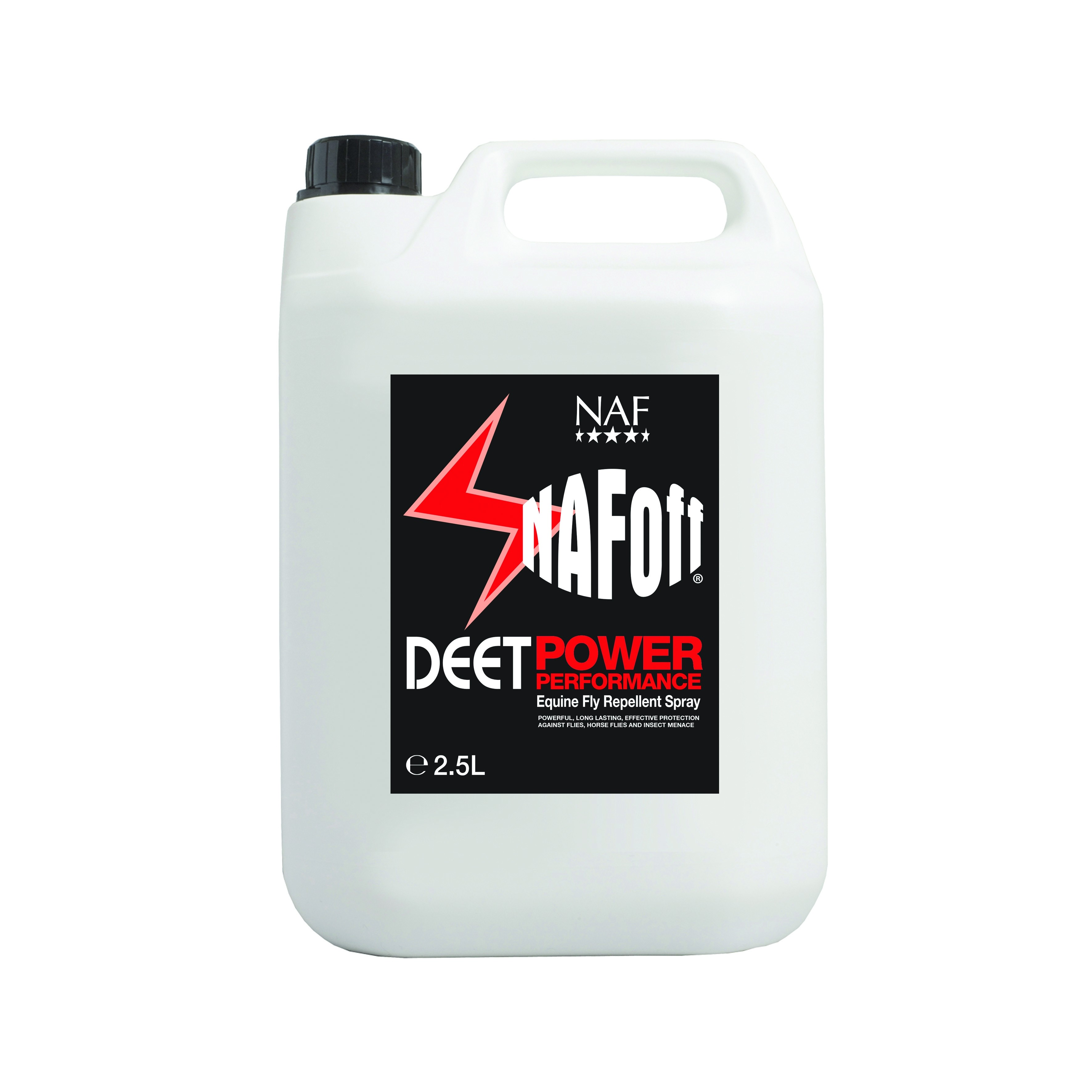 NAF Off Deet Power Fly Spray Refill  - Thomas Irving's equestrian and accessories store  NAF Off Deet Power Fly Spray Refill