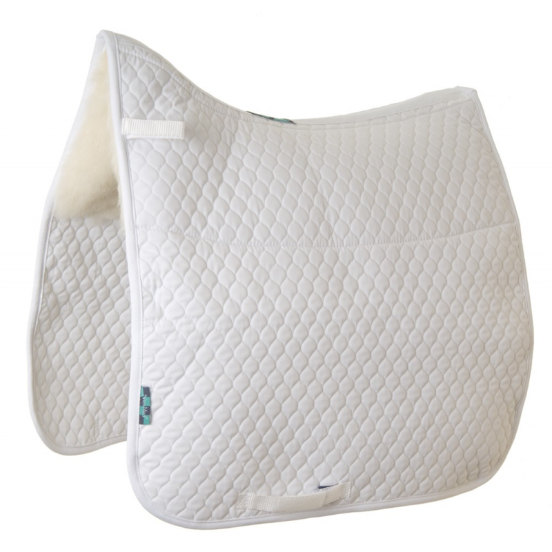 Nuumed Gullet Free HiWither Half Wool Saddlepad - Dressage  - Thomas Irving's equestrian and accessories store  Nuumed Gullet Free HiWither Half Wool Saddlepad - Dressage