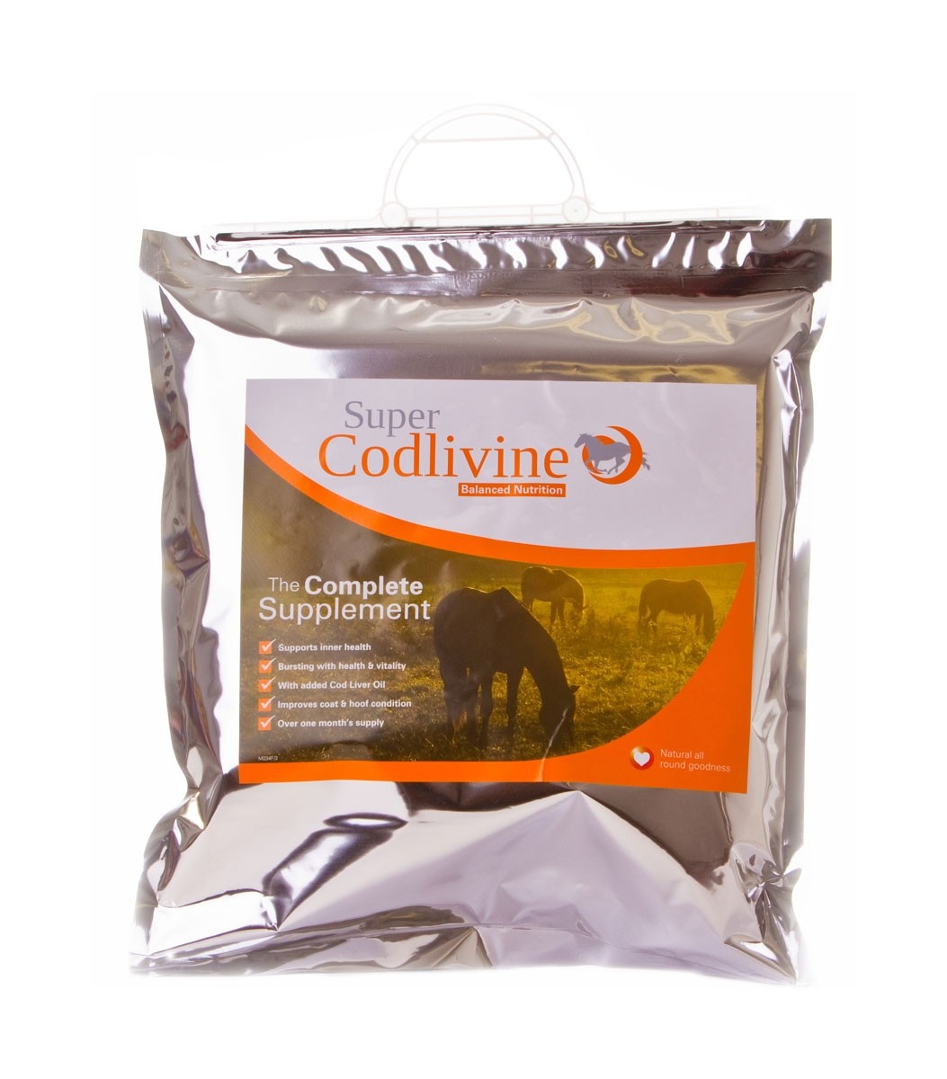 Super Codlivine The Complete Supplement Bucket  - Thomas Irving's equestrian and accessories store  Super Codlivine The Complete Supplement Carry Pack