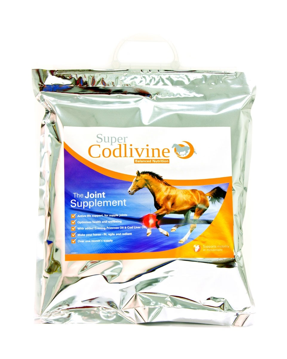 Super Codlivine The Joint Supplement Bucket  - Thomas Irving's equestrian and accessories store  Super Codlivine The Joint Supplement Carry Pack