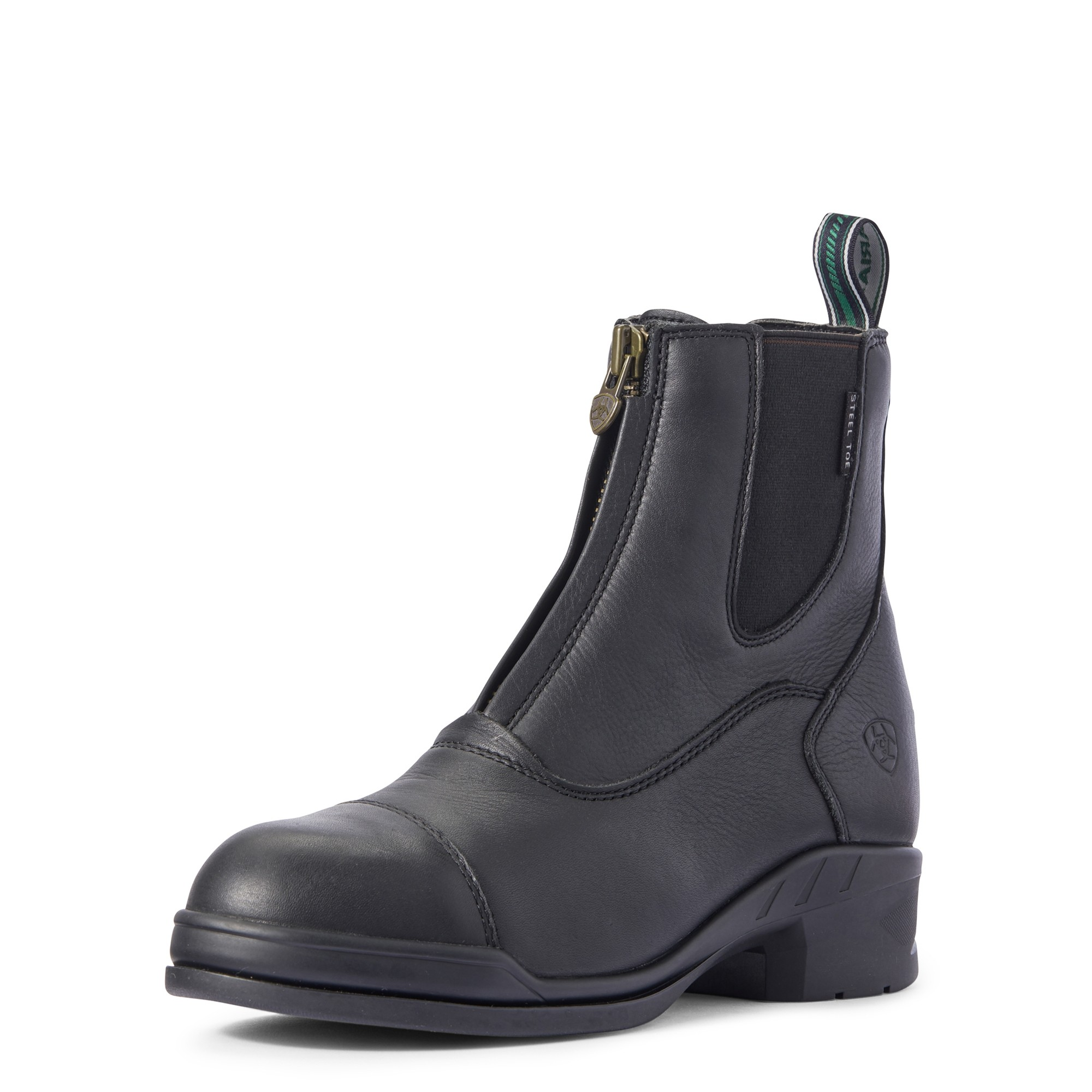 Ariat Womens Heritage IV Steel Toe Zip Paddock Boot  - Thomas Irving's equestrian and accessories store  Ariat Womens Heritage IV Steel Toe Zip Paddock Boot