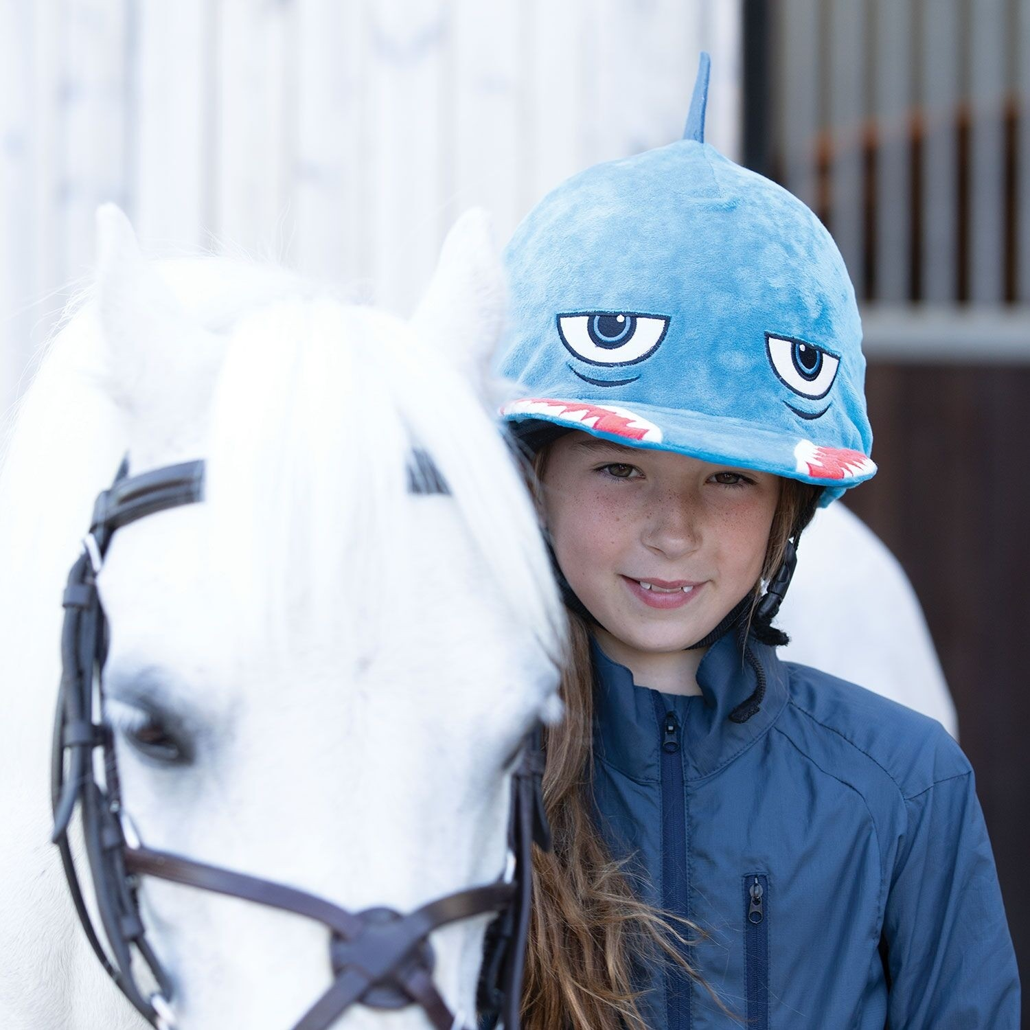 Equetech Shark Hat Silk  - Thomas Irving's equestrian and accessories store  Equetech Shark Hat Silk
