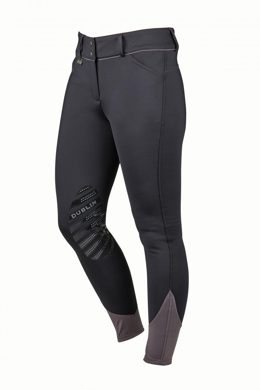 Dublin Thermal Gel Knee Patch Breeches  - Thomas Irving's equestrian and accessories store  Dublin Thermal Gel Knee Patch Breeches