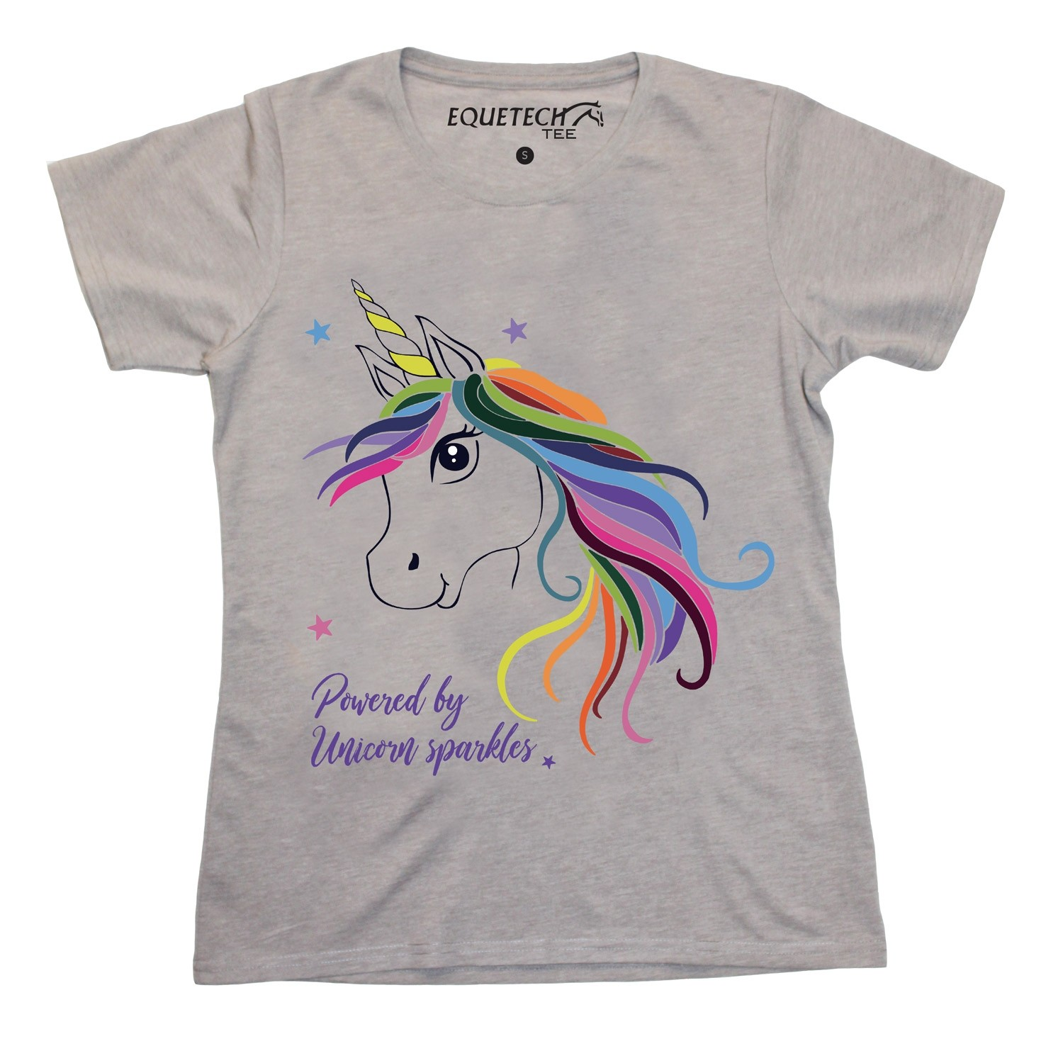 Equetech Childs Unicorn Tee  - Thomas Irving's equestrian and accessories store  Equetech Childs Unicorn Tee