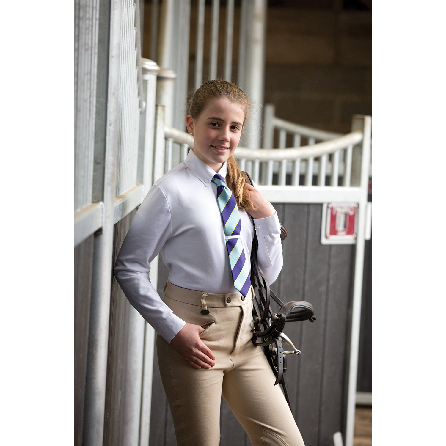 Equetech Junior Winter Rally Shirt  - Thomas Irving's equestrian and accessories store  Equetech Junior Winter Rally Shirt