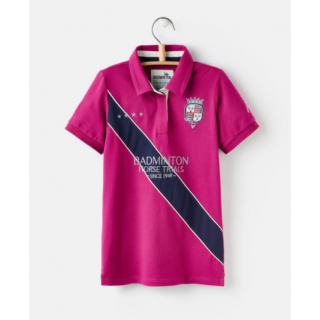 Joules Official Badminton Girls Polo