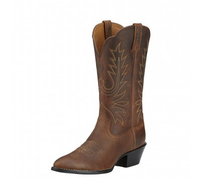Ariat Womens Heritage Western R Toe Boot