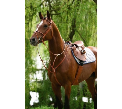 Stubben 10703 Breastpalte with Running Martingale Attachment