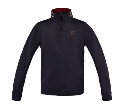 Kingsland Dufourspitze Junior Long Sleeve Polo Pique