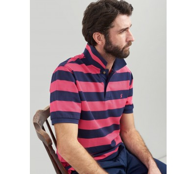Joules Mens Filbert Striped Classic Fit Polo